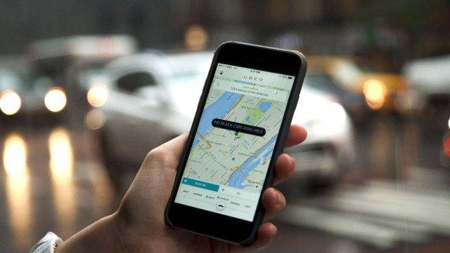 Conta Uber desativada