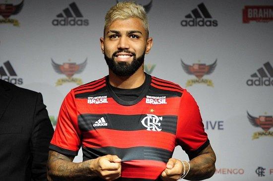 WhatsApp do Gabigol do Flamengo