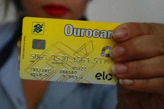 Cartão Banco do Brasil Vencido