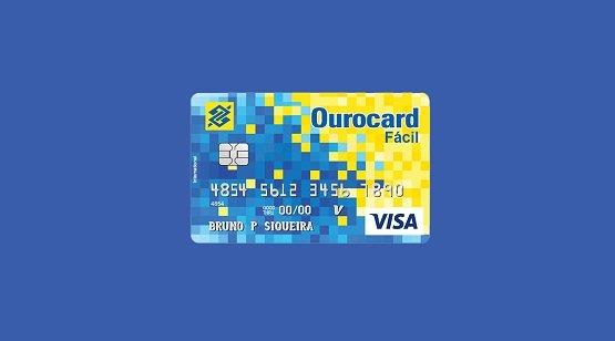 Cartão Conta Fácil BB quando chega