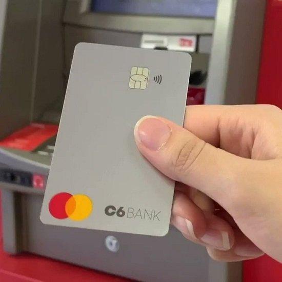 Como sacar dinheiro no C6 Bank