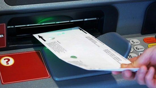 Esqueci de Preencher o Envelope de Depósito