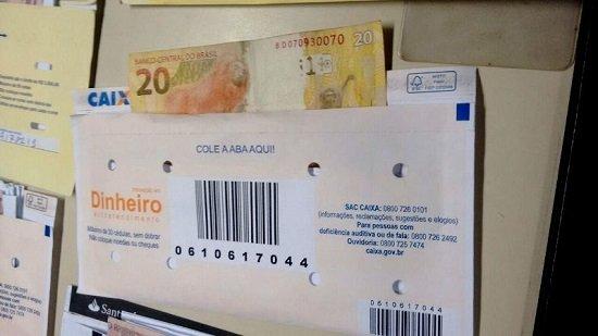 Rastrear Envelope de Depósito na Caixa