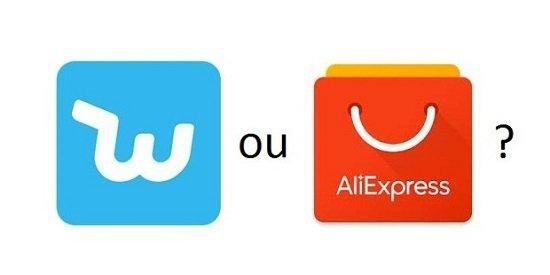 Wish ou Aliexpress?