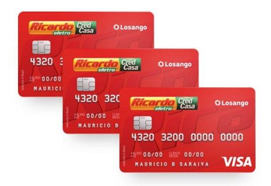 Cartão Ricardo Eletro
