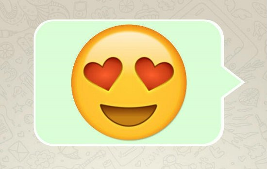 Significado do Emoticon com Coração nos Olhos