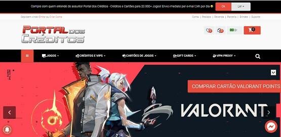 Site Portal dos Créditos
