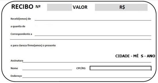 Modelos de Recibo de Pagamento para Imprimir